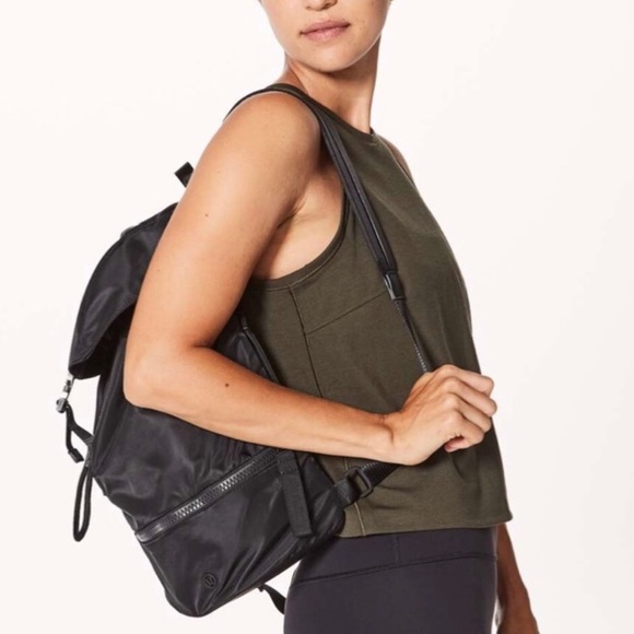 Lululemon Black Backpack
